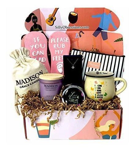 Caja de regalo personalizada para mamá de Silly Obsessions