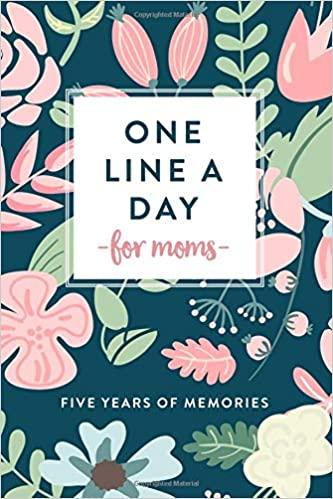 """Portada diario """"Mom's One Line a Day"""""""