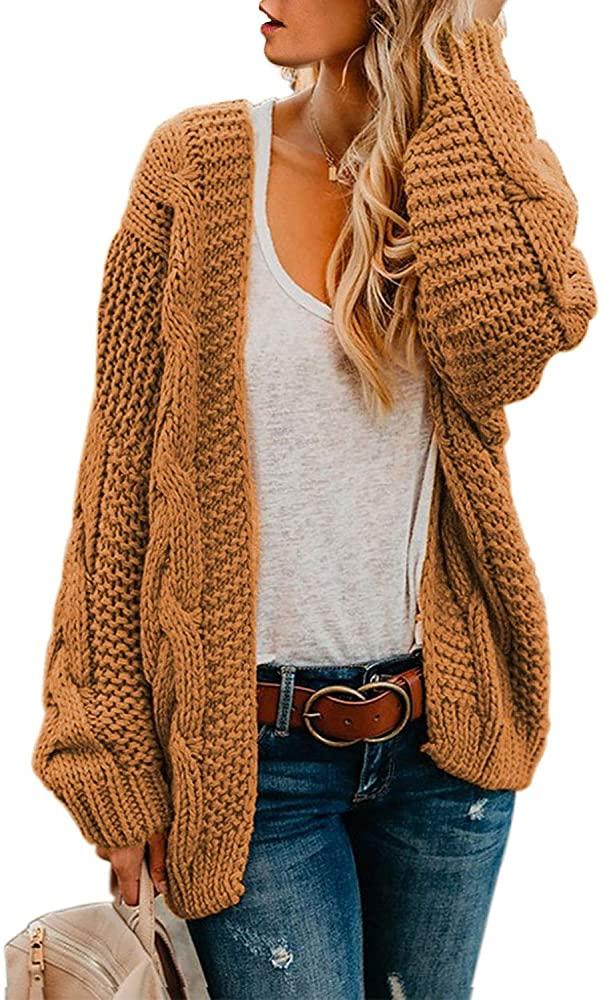 Suéter holgado color caqui Astylish