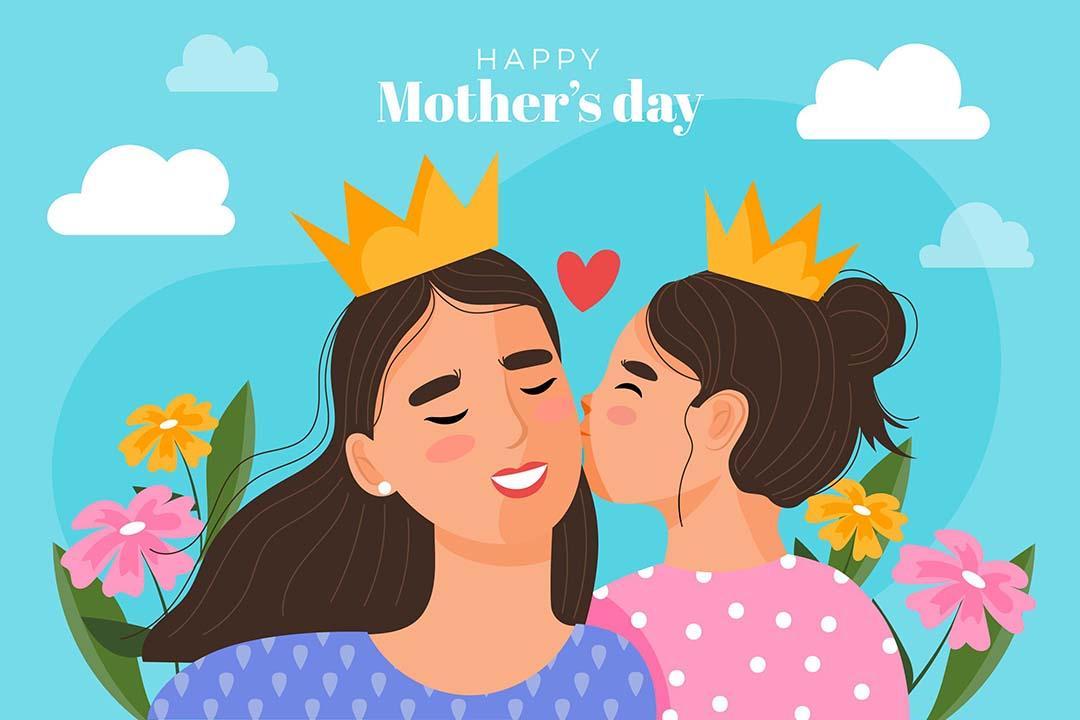 Ilustración de celebración día de la madre